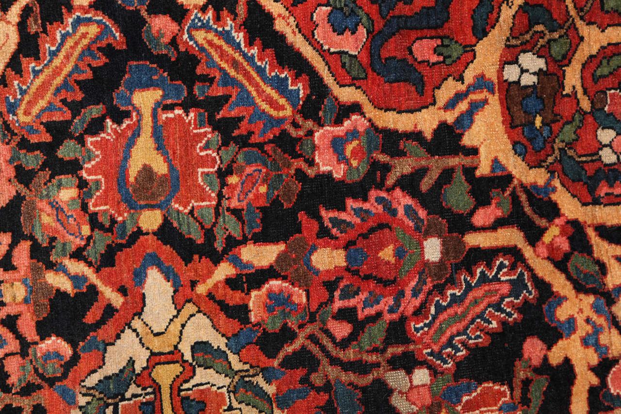 A Persian Bakhtiari Carpet At 1stdibs