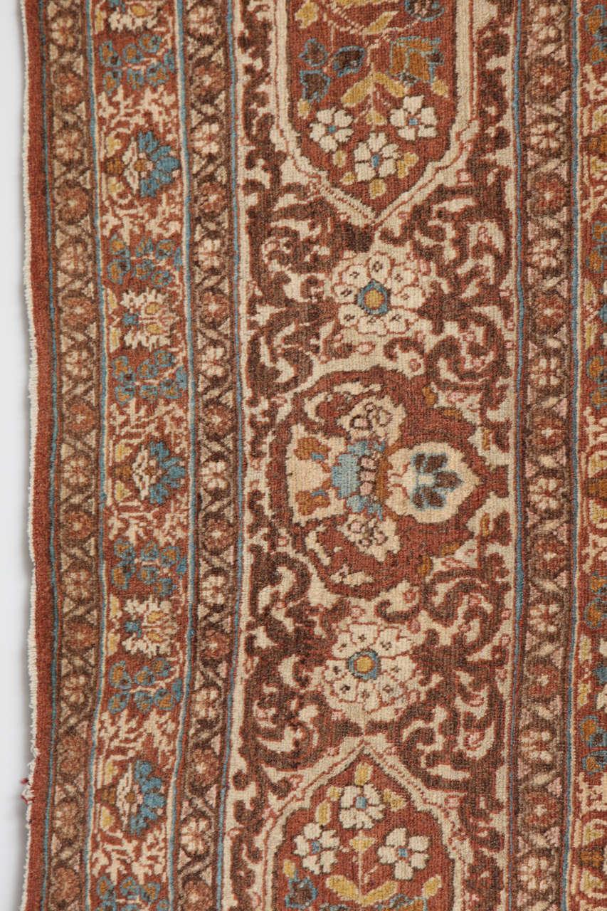 Persian Haji Jalili Tabriz Carpet, circa 1880 For Sale 2