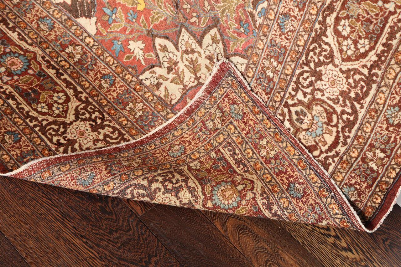 Persian Haji Jalili Tabriz Carpet, circa 1880 For Sale 4