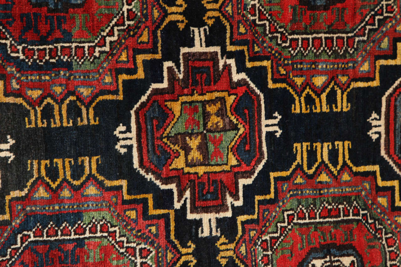 19th Century Persian Amal Ziegler Bakhtiari Carpet, circa 1890 For Sale