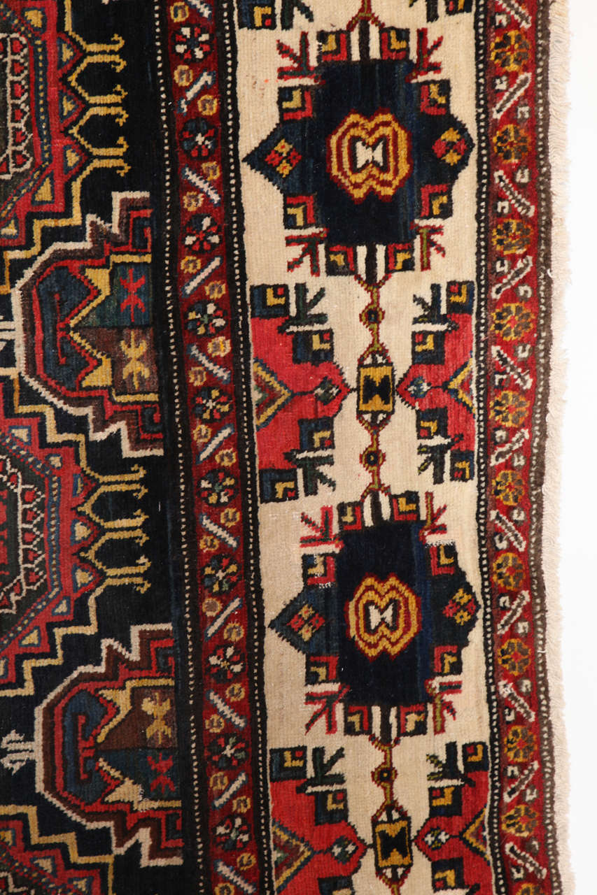 Wool Persian Amal Ziegler Bakhtiari Carpet, circa 1890 For Sale