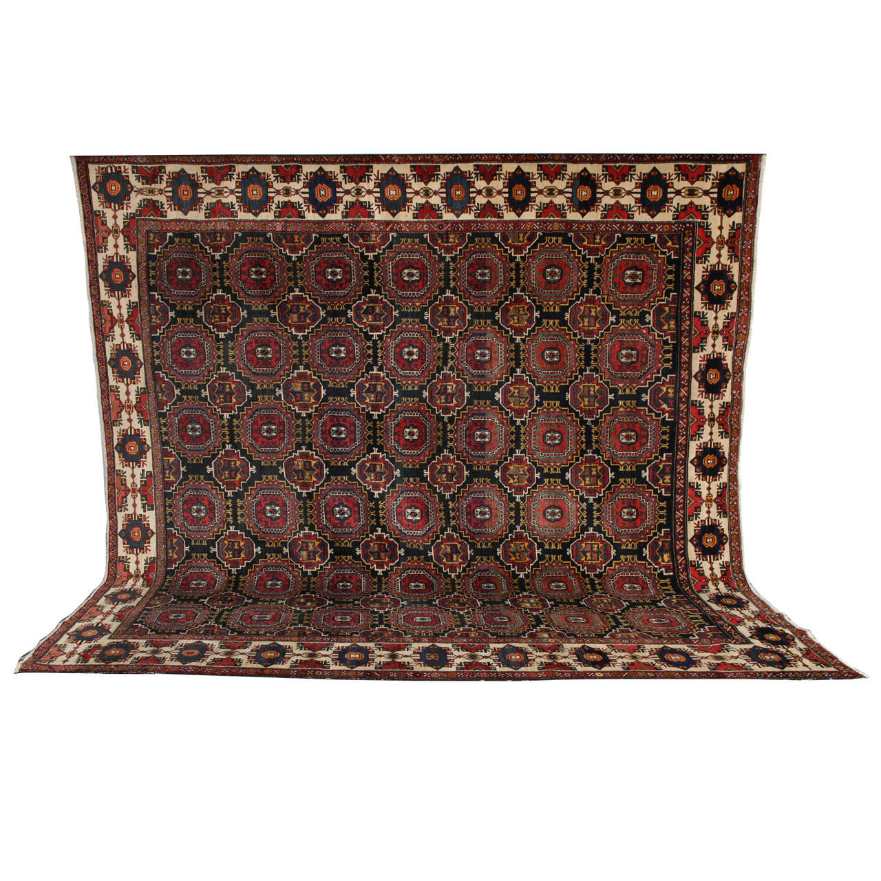 Persian Amal Ziegler Bakhtiari Carpet, circa 1890 For Sale
