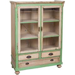 Pine Painted Cupboard
