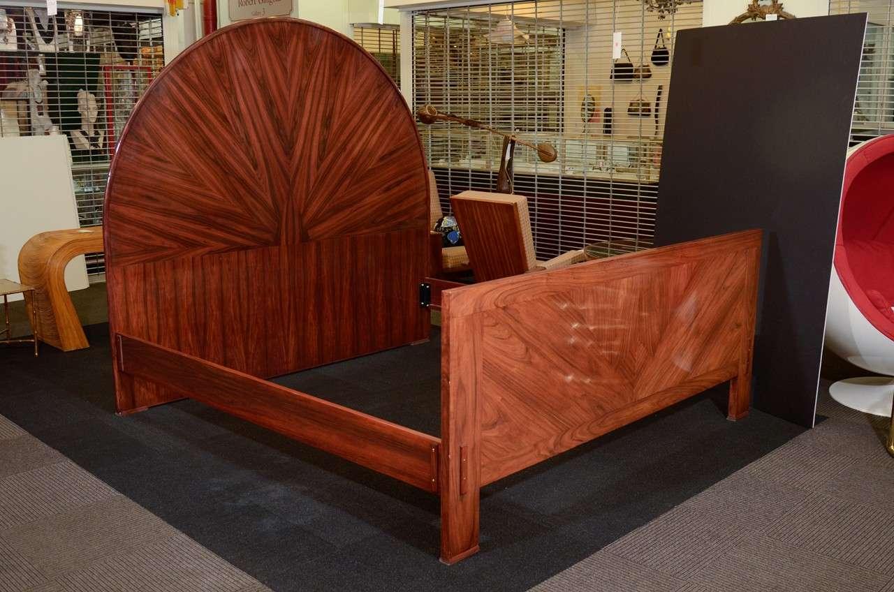28 art deco bed frame vintage pel machine age art deco bed