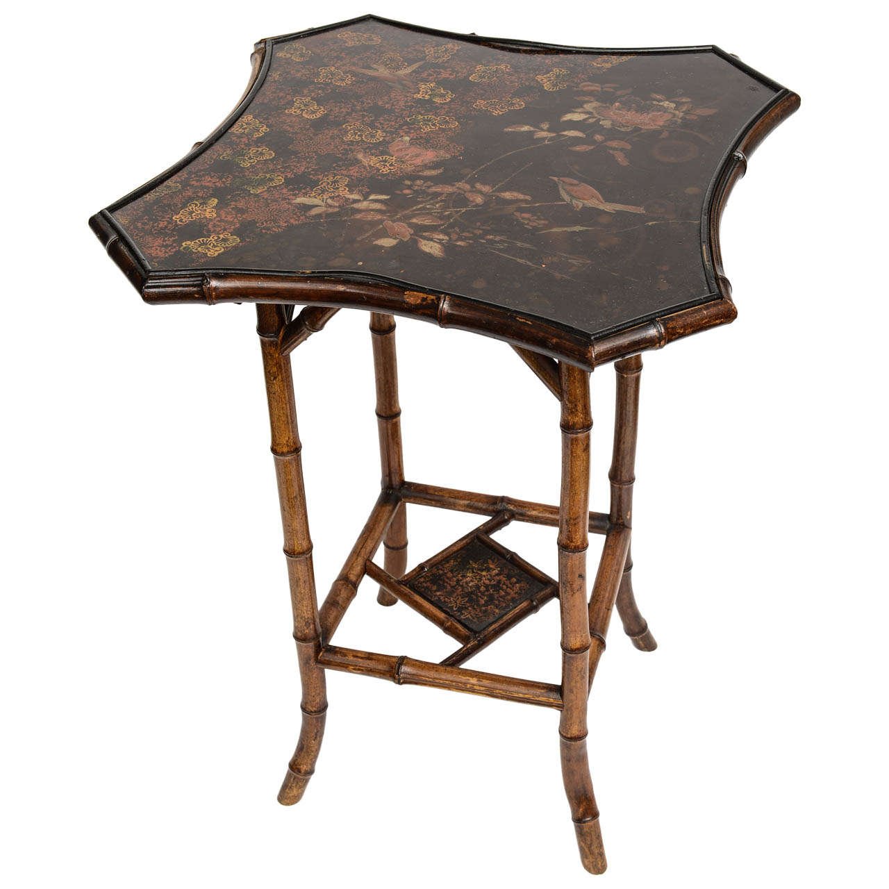 Very Unusual 19th C English Bamboo Table At 1stdibs