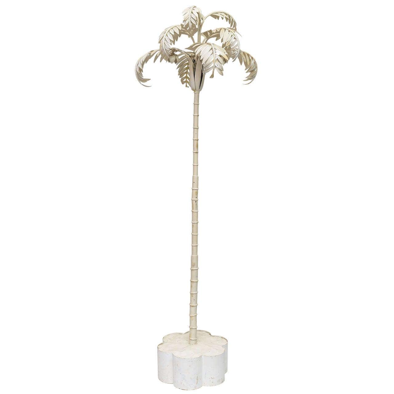 60 39 s palm tree floor lamp at 1stdibs. Black Bedroom Furniture Sets. Home Design Ideas
