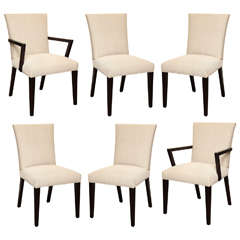 Set of Six Dining Chairs by Widdicomb, Circa 1950's