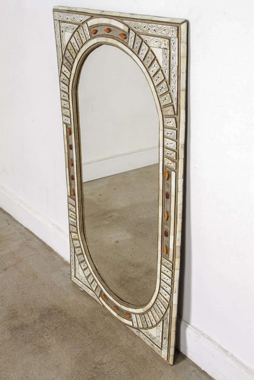 Moroccan Mirror Inlaid At 1stdibs