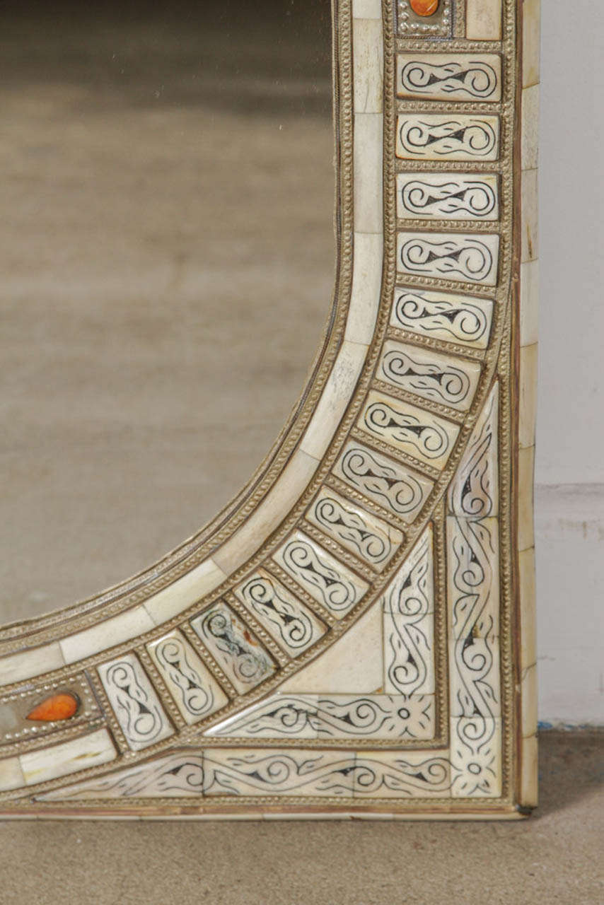 Moroccan Mirror Inlaid At 1stdibs