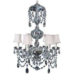 Neoclassical Style Crystal Chandelier