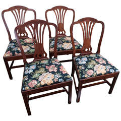 Set of Four Georgian Style Chairs