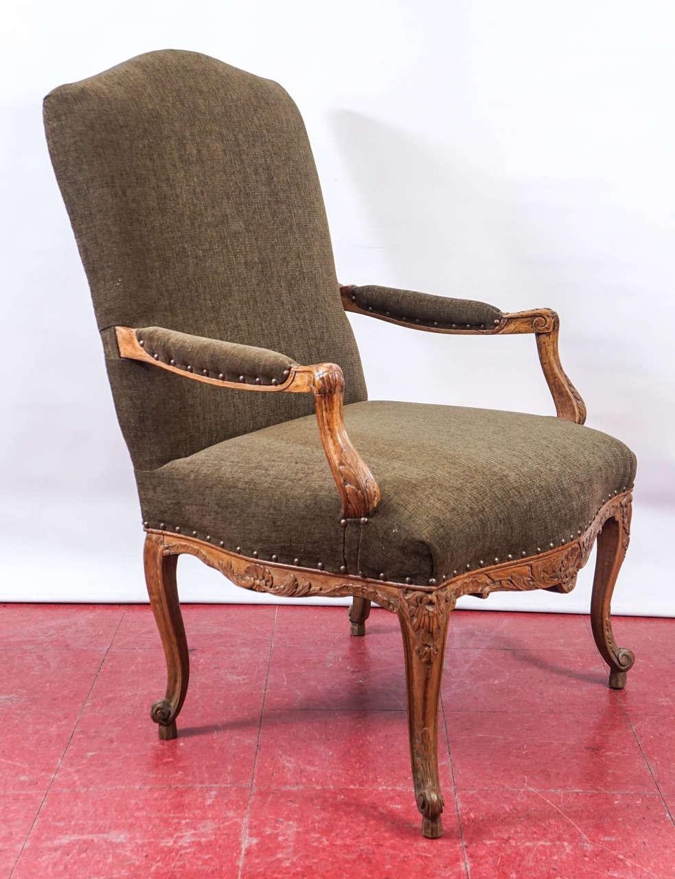 Régence Louis XV Style Armchair For Sale