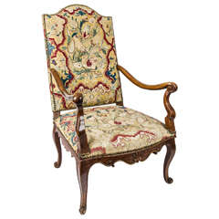 18th Century French Needlework Bergere