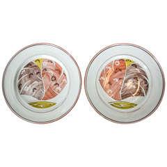 Pair of Aldermaston Plates
