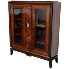 French Art Deco Cabinet / Vitrine