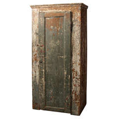 primitive country cabinet