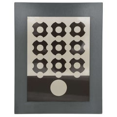 Victor Vasarely Silkscreen on Aluminum