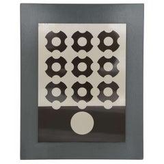 Victor Vasarely Silkscreen on Aluminum