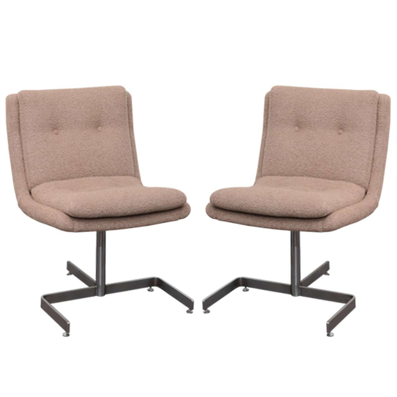 Pair of Lounge Chairs by Raphael For Sale