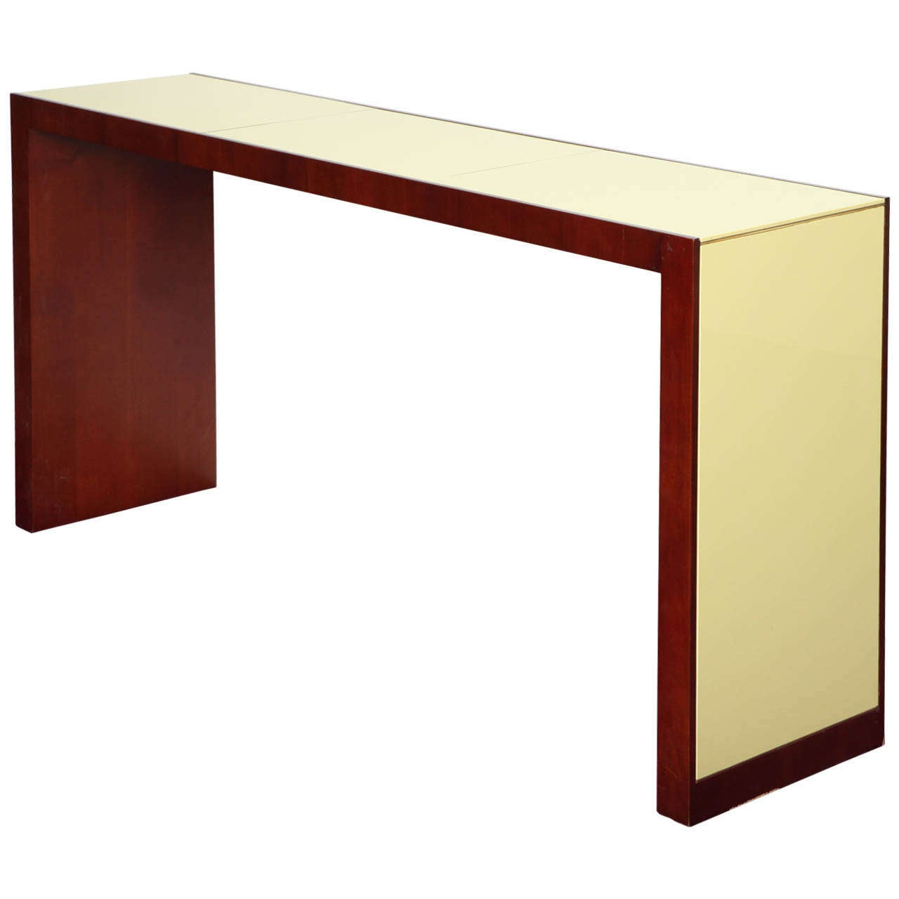 Contemporary studio made console table at 1stdibs for Console salon