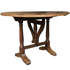 French Vendange Table