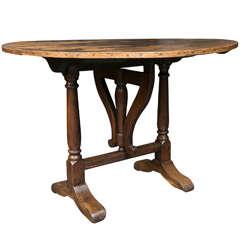 French Vendange Table