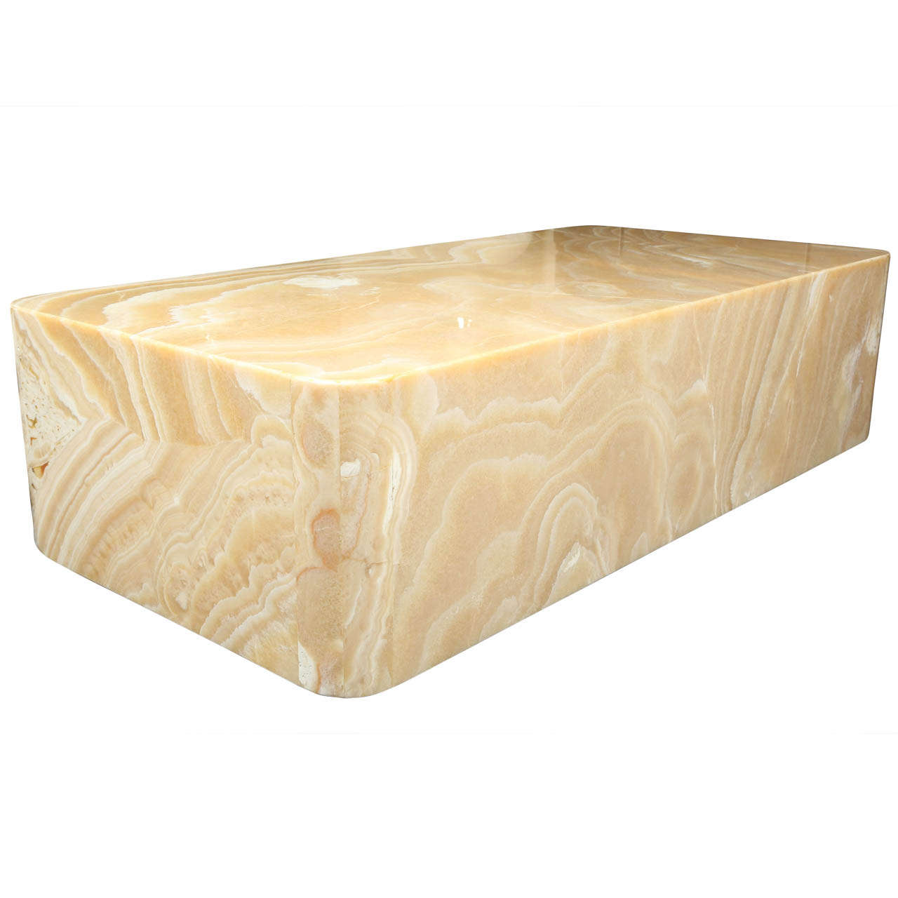 Fabulous Onyx Coffee Table At 1stdibs
