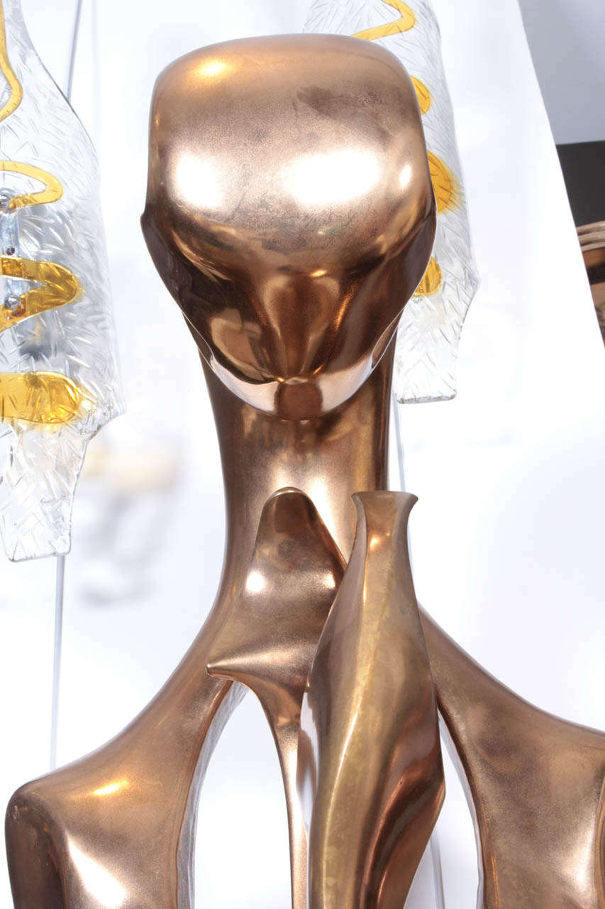 Amazing Bronze Sculpture, 1970 by G. Carpentier For Sale 1