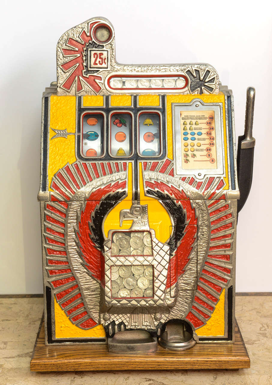 slot machines in florida in the 1930s