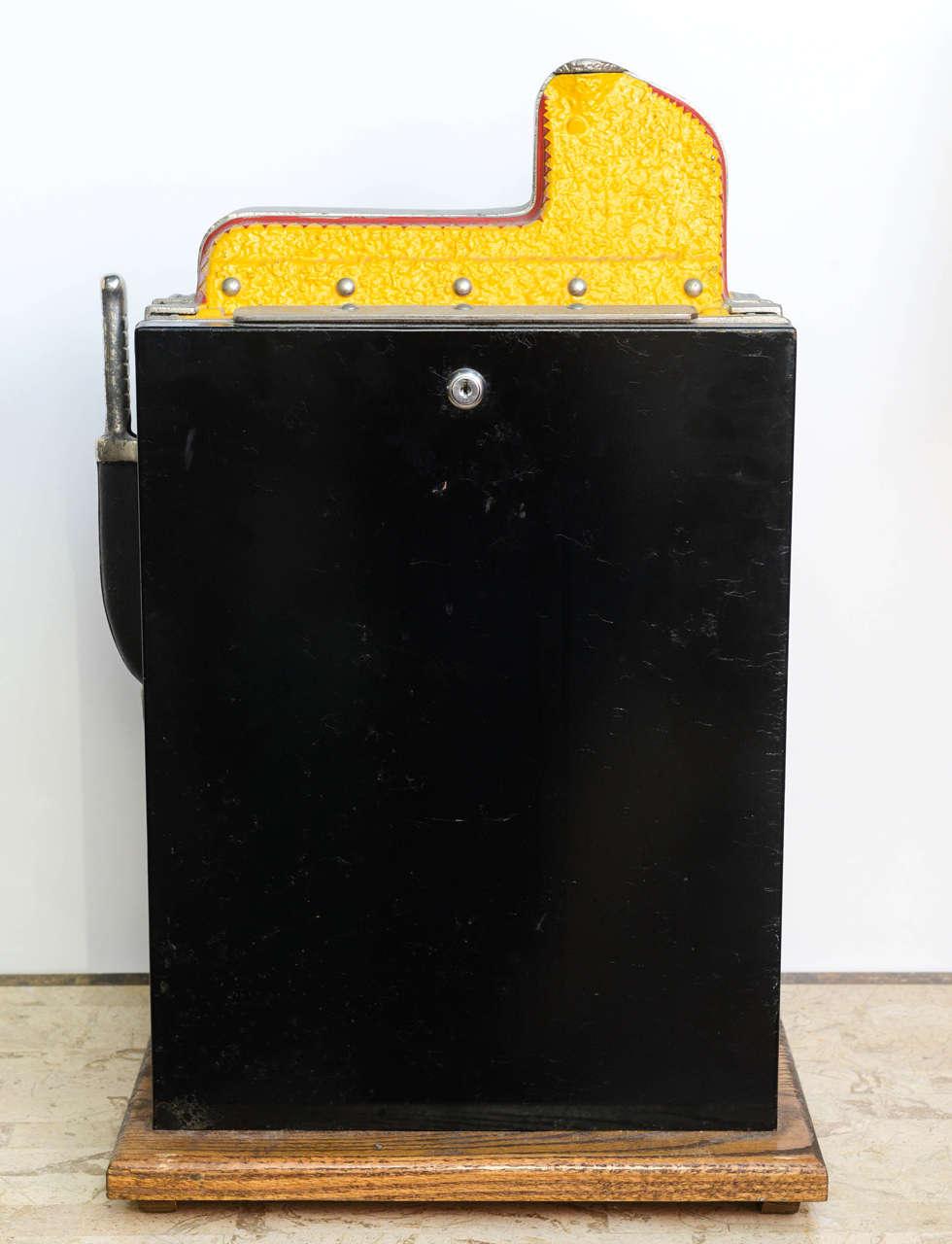 25 Cent War Eagle Mills Slot Machine Circa 1930s At 1stdibs