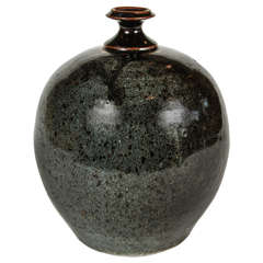 Stoneware Weed Pot