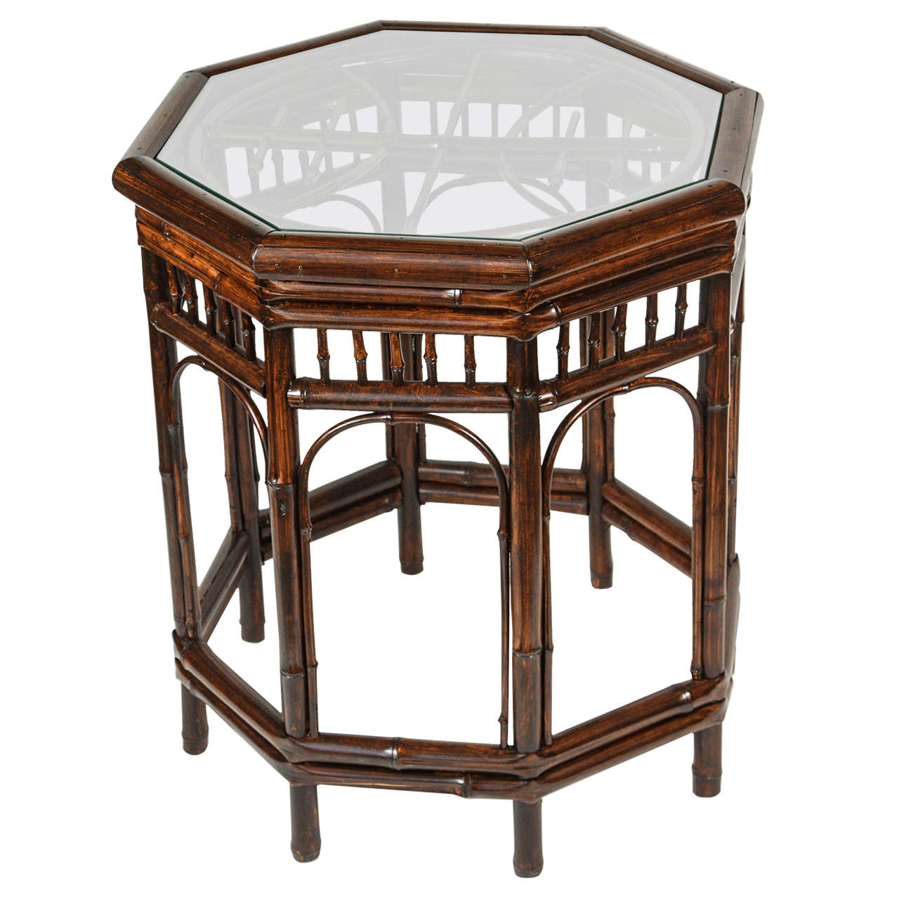 Vintage bamboo side table at 1stdibs for Bamboo side table