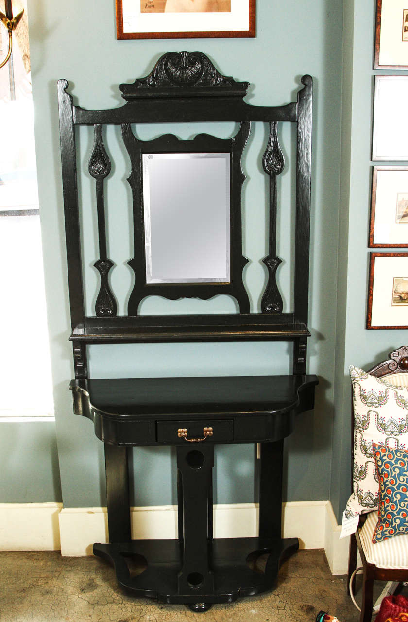 Foyer Table And Mirror On Sale On Kijiji : Vintage hall table with mirror for sale at stdibs