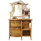 Rare 19th  Century English Victorian Period Etagere