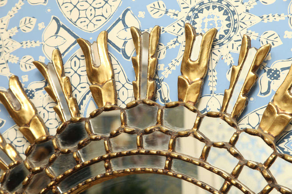 European Sunburst Mirror 6