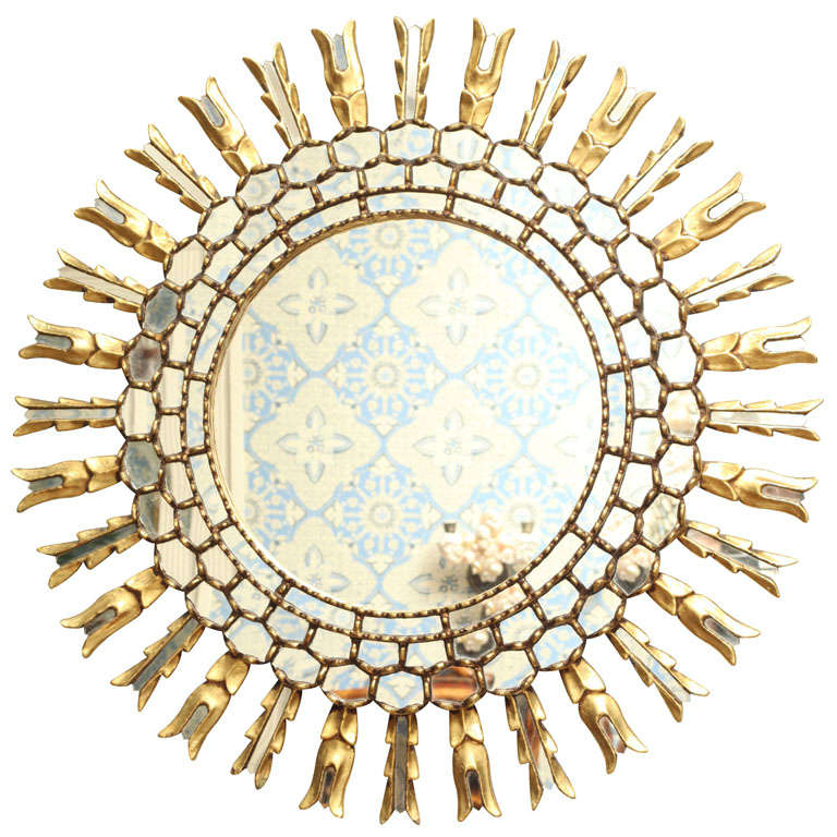 European Sunburst Mirror