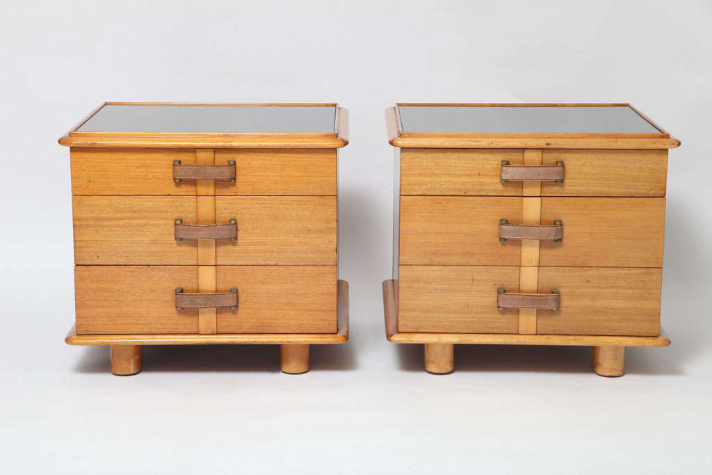 """Paul Frank Bedroom In A Box: Rare Paul Frankl """"Station Wagon"""" Series Nightstands At 1stdibs"""