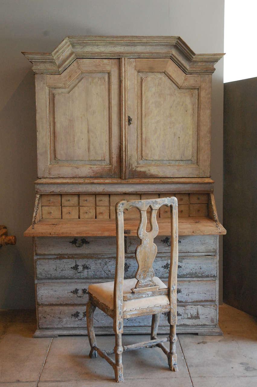 Huge Gustavian Hutch Desk , Sweden C 1800 at 1stdibs