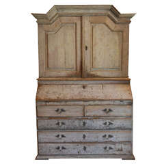 Huge Gustavian Hutch / Desk , Sweden C. 1800