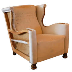 Swedish Wingback Chair , Ca. 1940