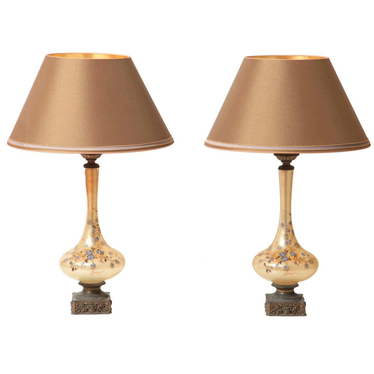 Pair Of 1930s Lamps At 1stdibs