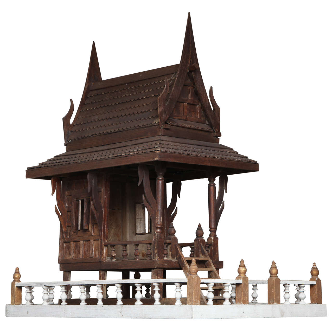 Spirit house at 1stdibs for Architecture models for sale