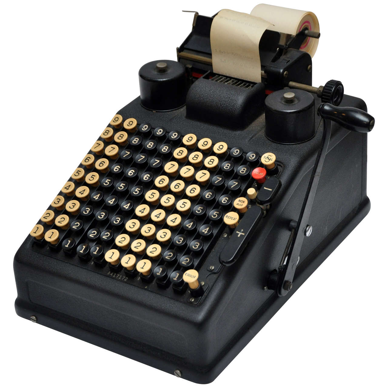 Vintage Adding Machine At 1stdibs