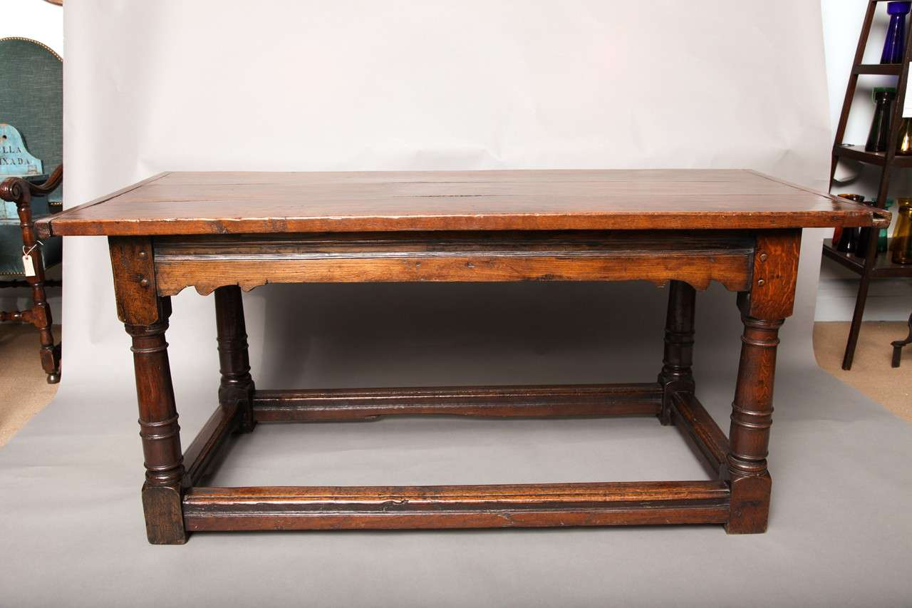 17th Century English Oak Refectory Table 2
