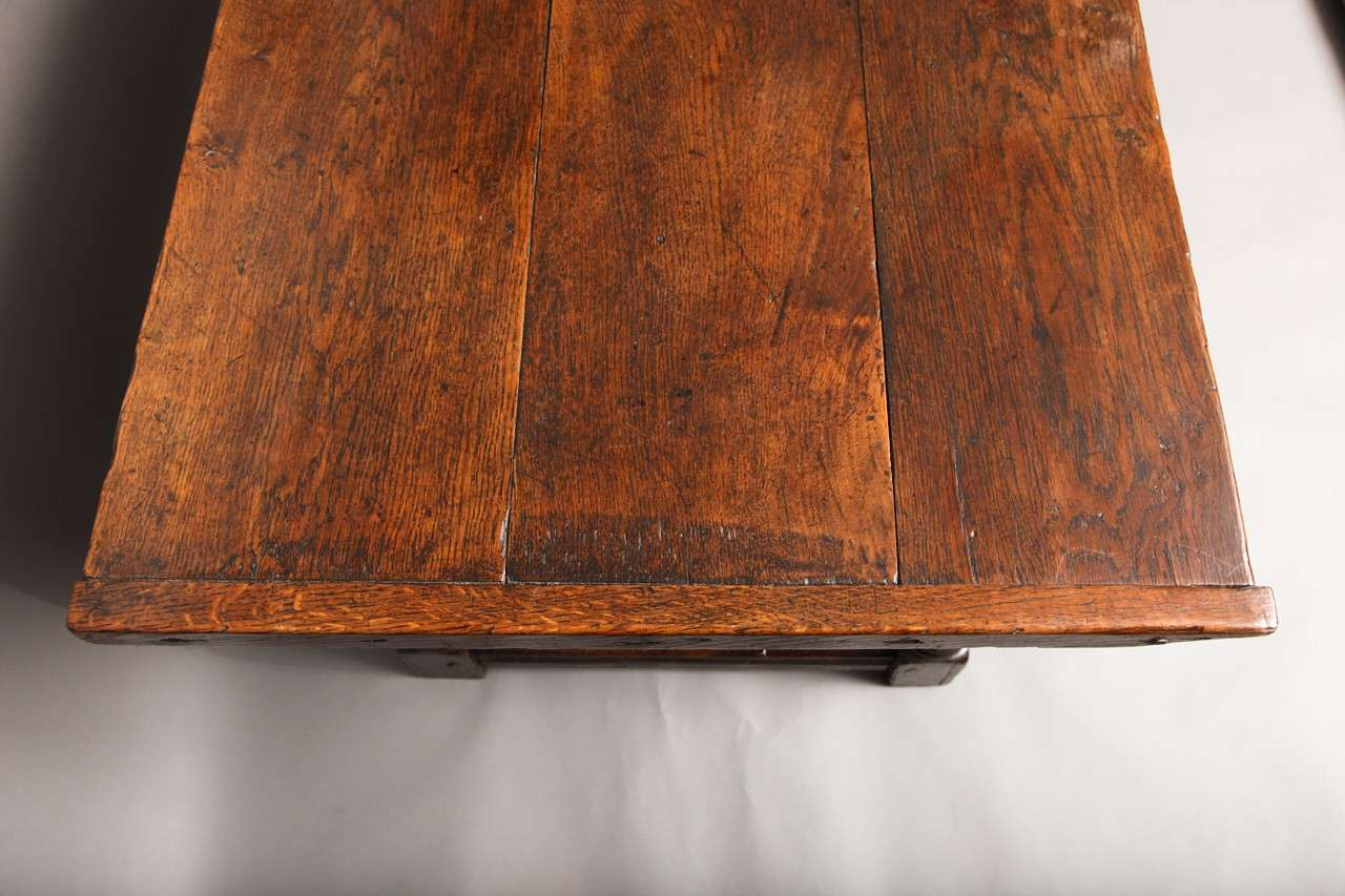 17th Century English Oak Refectory Table 5