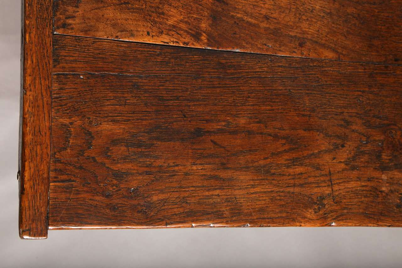 17th Century English Oak Refectory Table 6