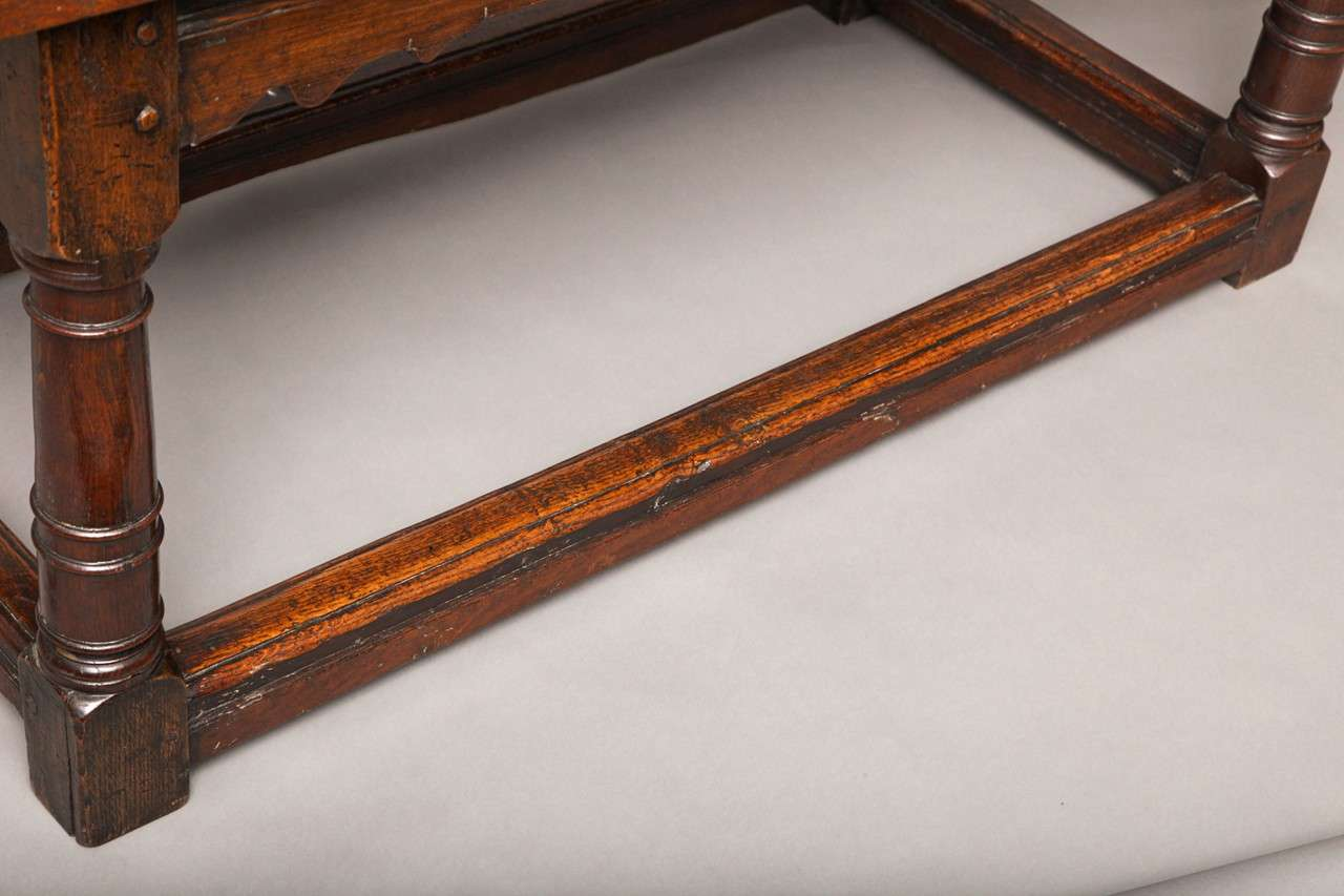 17th Century English Oak Refectory Table 8