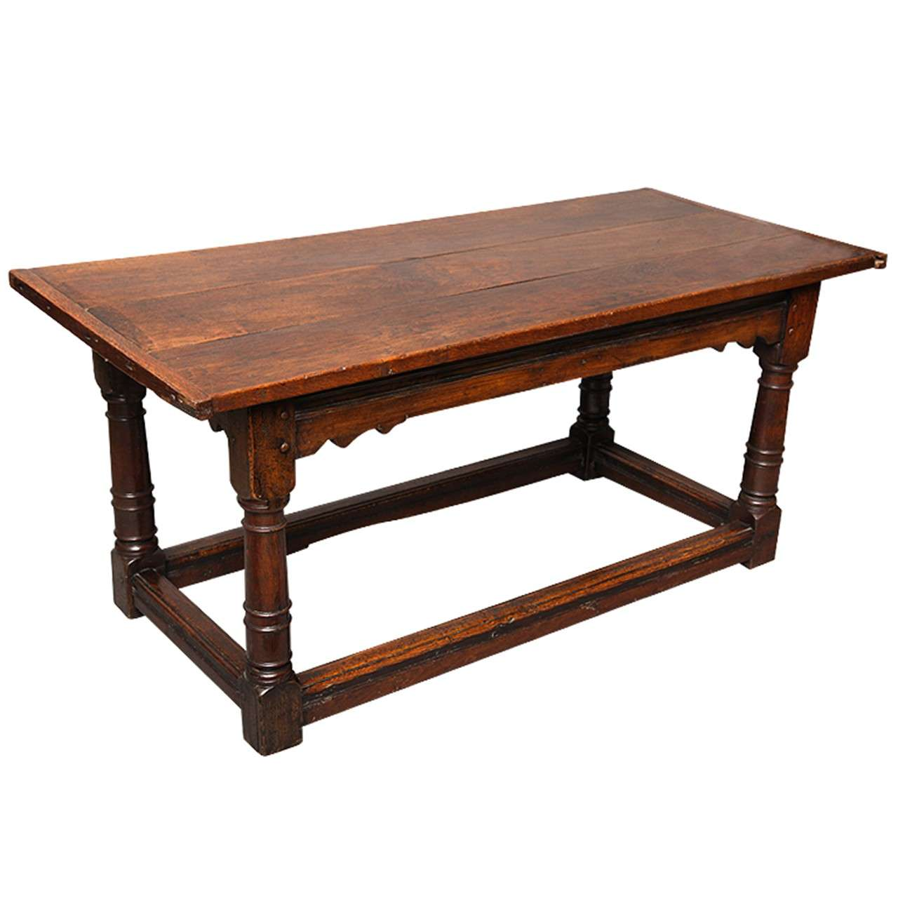 Exceptional 17th Century English Oak Refectory Table