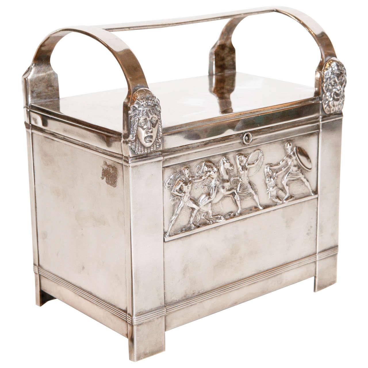 Italian Art-Deco Humidor For Sale
