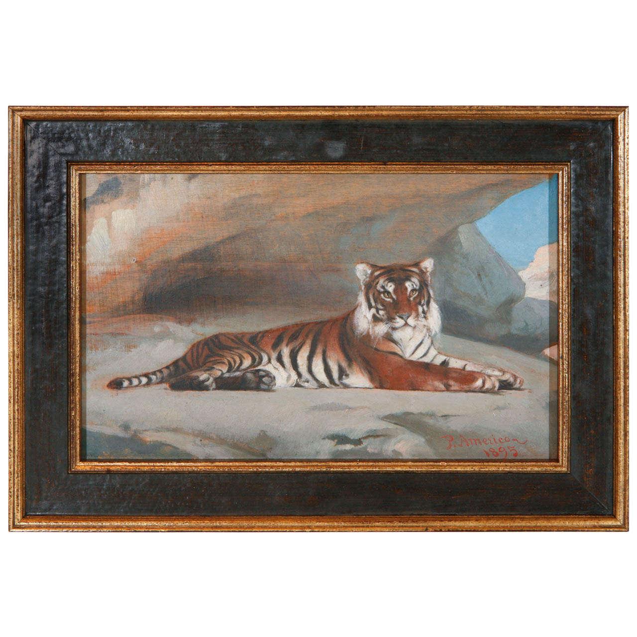Original 19th Century Oil Painting